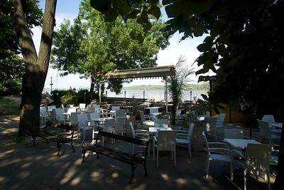 Relaxing riverside restaurant