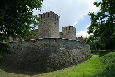 Baba Vida Fortress in Viden, Bulgaria