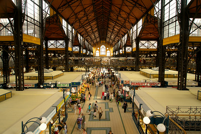 The covered market, Budapest