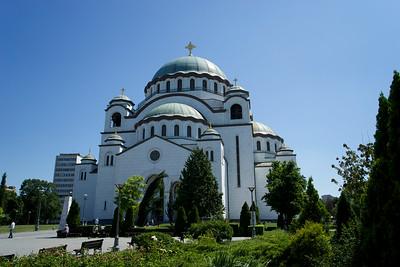 St. Sava Orthodox Cathedral in Belgrade