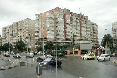 Old communist housing, Constanta, Romania