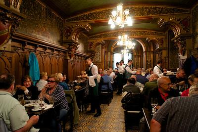Restaurant in old town Bucharest