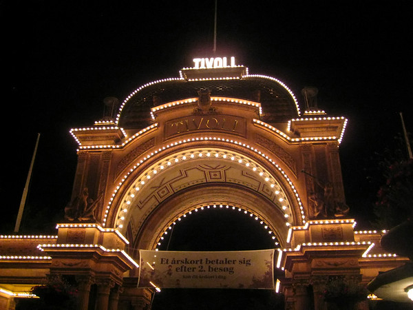 Tivoli at Night