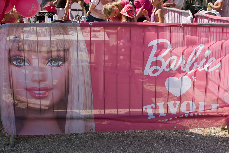 Barbie Day in Tivoli
