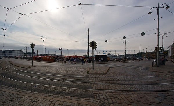 The approach to the harbor and Market Square
