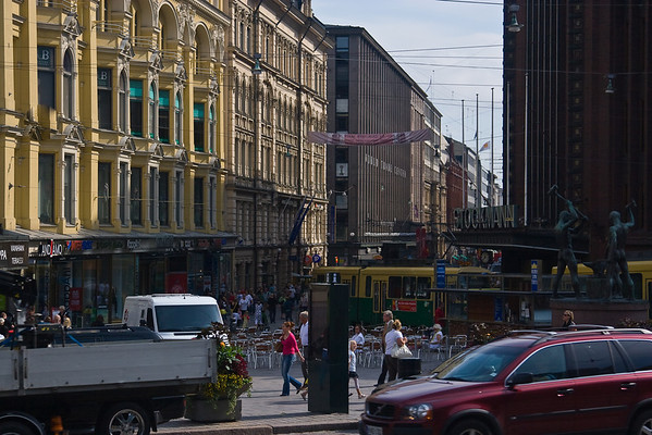 Downtown Helsinki