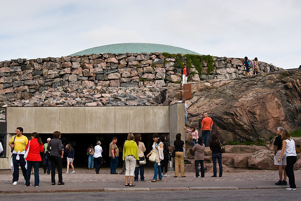 Temppeliaukio Church or Church of the Rock