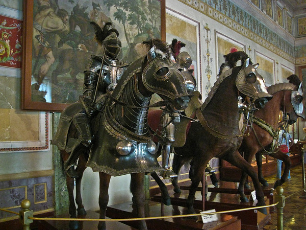 The Knights Hall Display