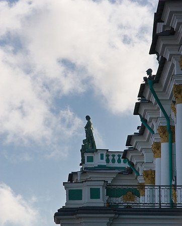 The Hermitage exterior details