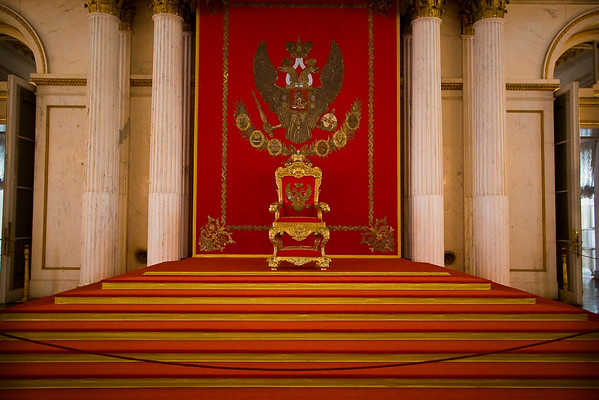 The Romanov throne