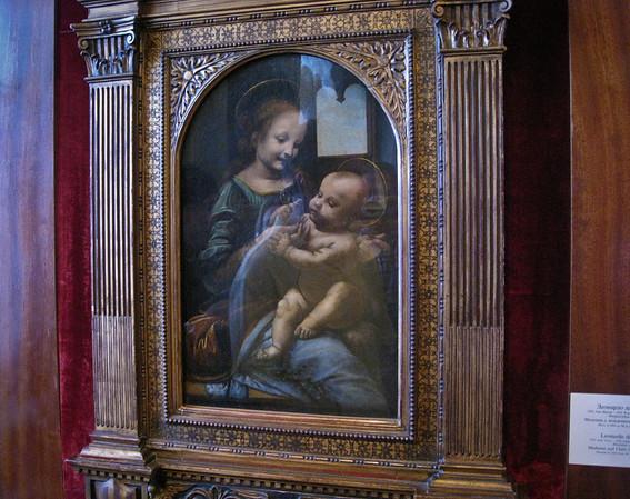The Madonna With a Flower by Leonardo da Vinci