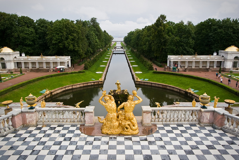 Gardens at the Peterhof