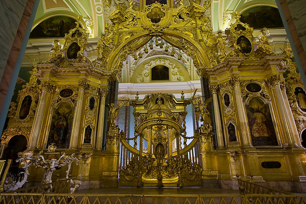 Iconostasis in the Cathedral of Saints Peter & Paul