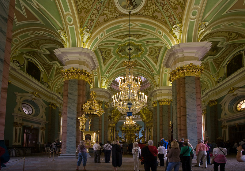 Interior of The Saints Peter & Paul Cathedral