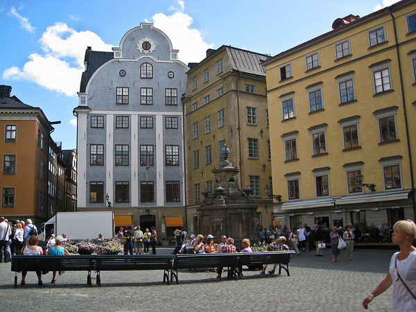 The Main Square in Old Town (Stortorget)