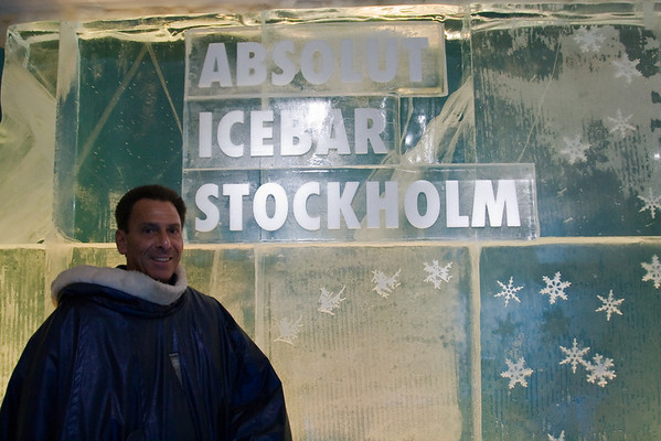 Absolut Icebar Stockholm