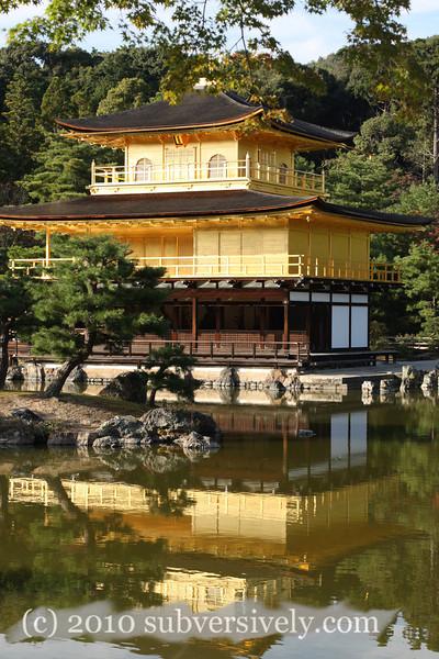 Kinkaku-ji - The Golden Pavilion (Kyoto, Japan)