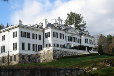 "Edith Wharton's home ""The Mount"""