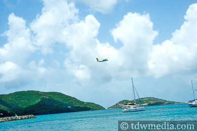 The Best Airport Layover ever in Tortola BVI 7-24-09 16