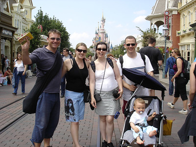 France: Paris was lovely, made more so by being joined by Anna who came along to Disneyland with Bene, Francois and Paul.