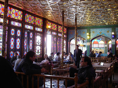 Iran: Best cafés in the world? Paris, Milan, NYC, London? Nope Iran has got them all covered. Nowhere has places with the atmosphere of an ancient Persian caravanserai where traders have chewed the fat for 100s of years. This teahouse in  Esfahan has an awesome interior and backs onto the Lotfollah Mosque on Immam Sq, quite possibly the beautiful Mosque on the planet. Shame about the coffee;0)