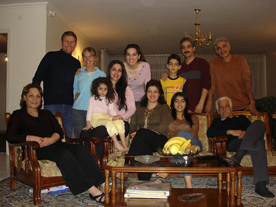 Iran: Our family in Esfahan, Mehrnoosh and her family showed us amazing hospitality and kindness and we owe them greatly. We hope to see them all again soon and hope they are all well.