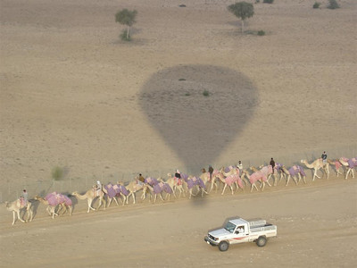 Dubai: What is the lasting impression of the UAE? Desert? Camels? Balloons? No, 4WDs of course!