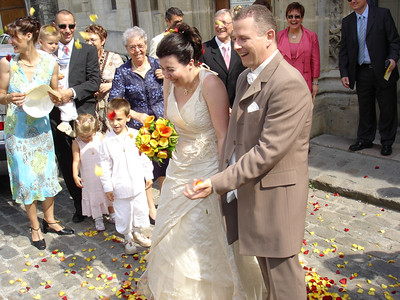 France: A French wedding can't be beat. We had a wonderful time at the wedding of Bene and Francois and at the Christening of Paul.