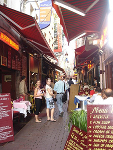 Belgium: Foodies cannot be dissappointed in Brussels. Seafood galore in beautiful historic surroundings and not a sprout in sight!
