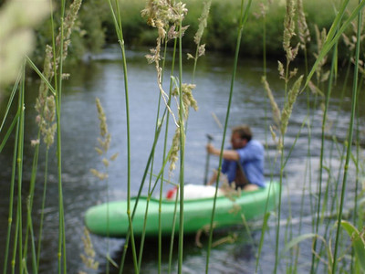Czech Republic: The area around the Vitava River had us entertained for weeks. We paddled along it, camped in some choice locations, and we even walked back to Germany for the day!