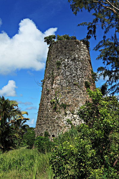 Remains of an old Sugar Cane mill.