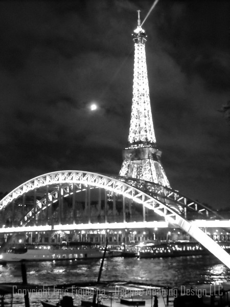 """Eiffel on the Waterfront""   Paris, France  By Veronica Figueroa"