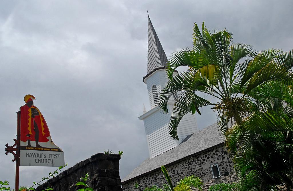 Hawaii's first church in Kailua-Kona
