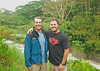 Jared and Sterles outside of Hilo