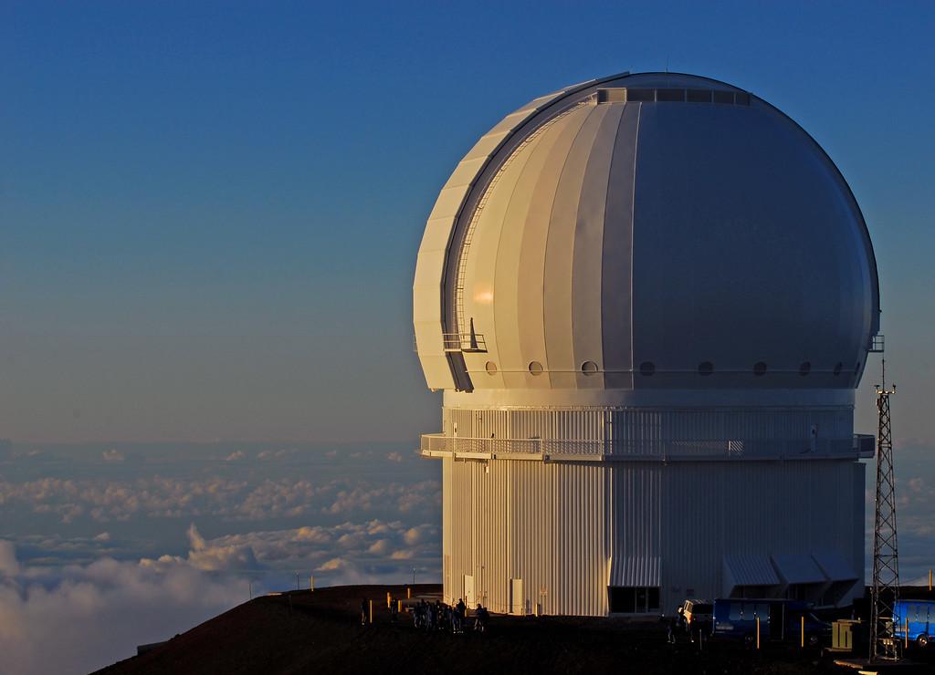 Telescopes at the summit