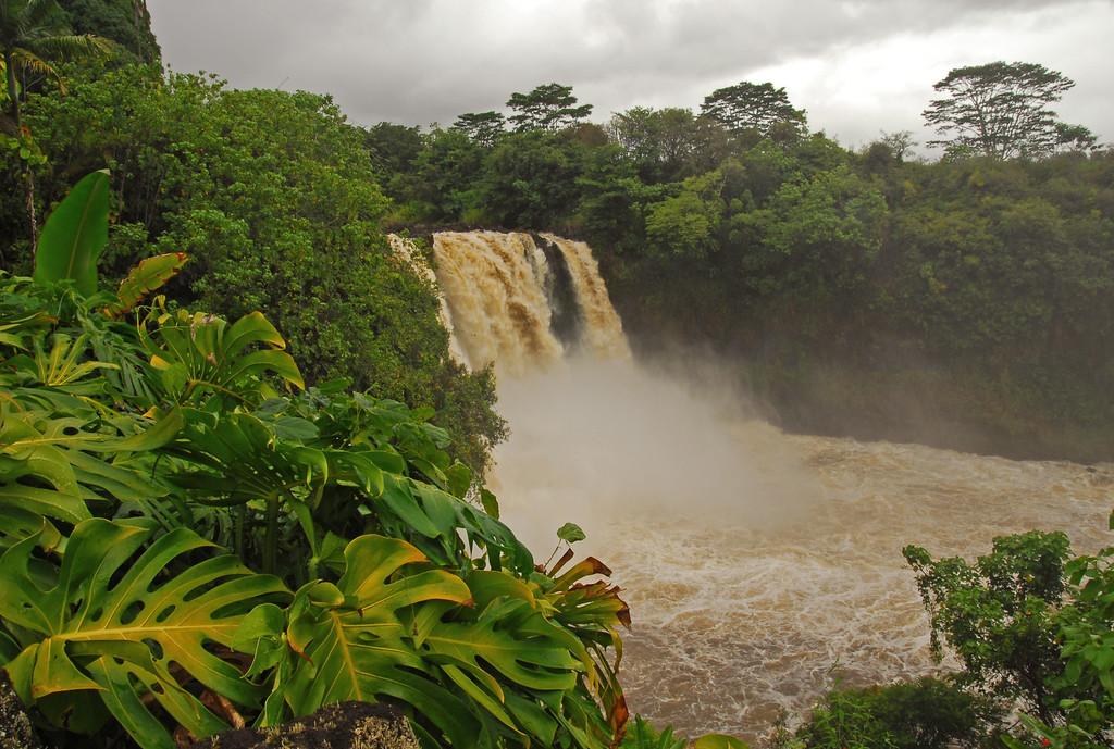 Rainbow Falls outside of Hilo