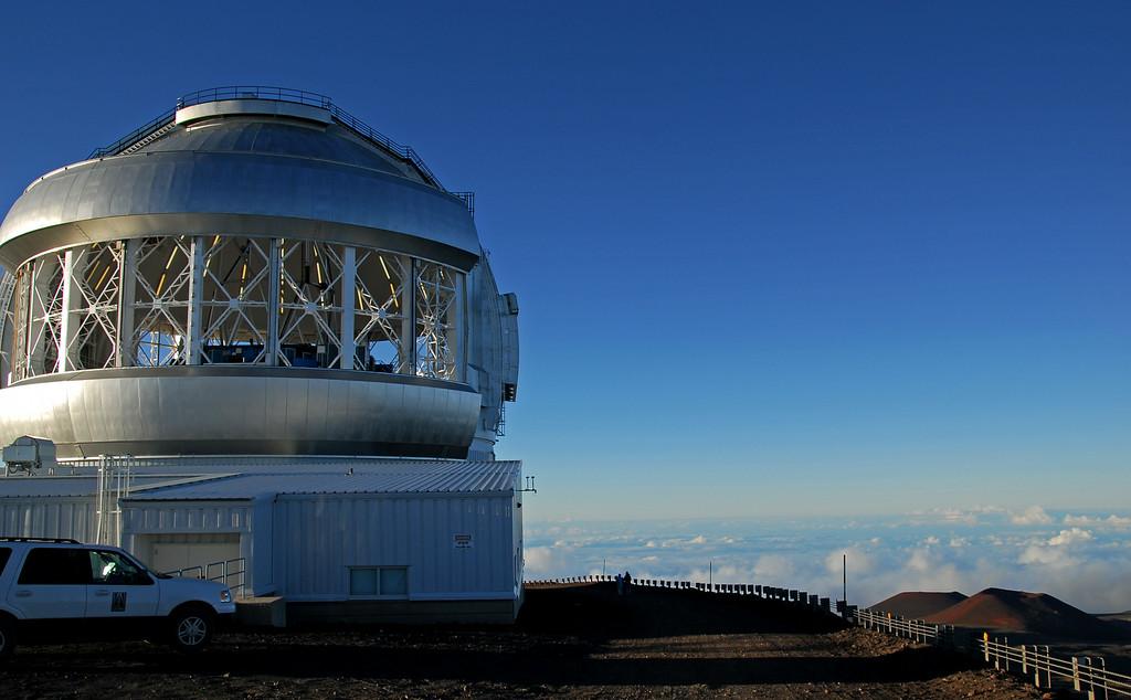 Observatory building at Mauna Kea summit