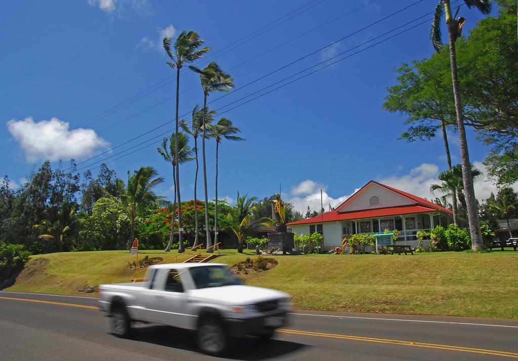 King Kamehameha park musuem  in Hawi