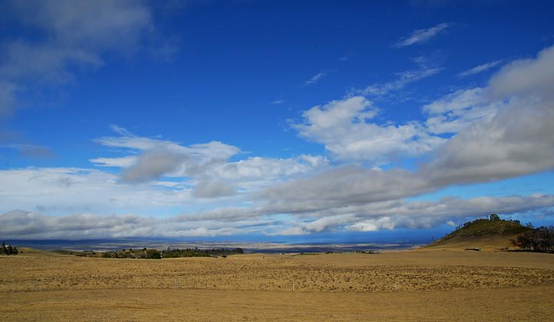 Driving Saddle Road to Waimea