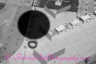 Orange Balloon Shadow 02 bw