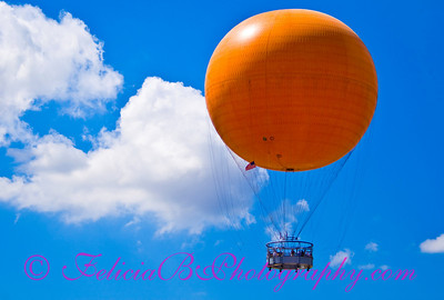 Orange Ballon - edited after helpful critique on DGrin's the Whipping Post.