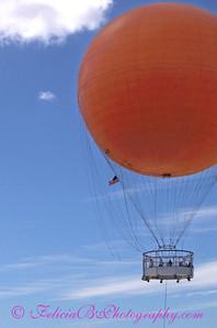 Orange Balloon 02