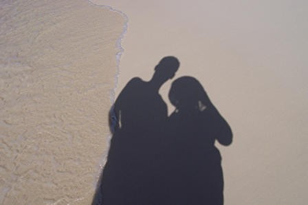 Shadows in Aruba