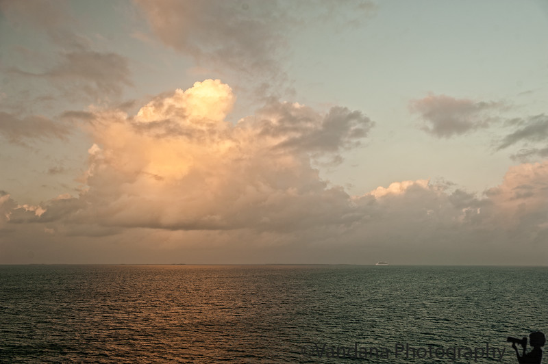 Dec 22, 2011 - Sunrise on the way to Belize
