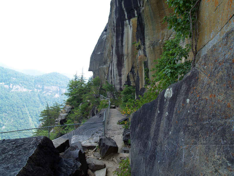 part of lower trail, Chimney Rock State Park