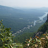 Chimney Rock S.P. -- Lake Lure from the upper trail