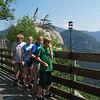 Chimney Rock State Park, North Carolina (Seth, Trudy, Lydia, Andrew)
