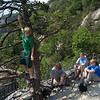 Chimney Rock-- cousins