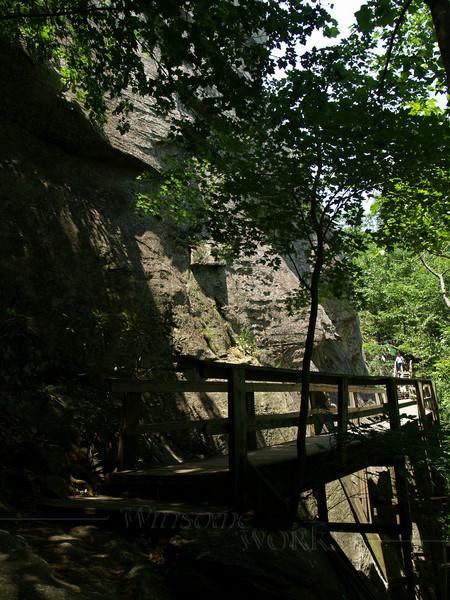 """cliff-side """"boardwalk"""""""