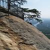 Chimney Rock-- the chimney & Lake Lure